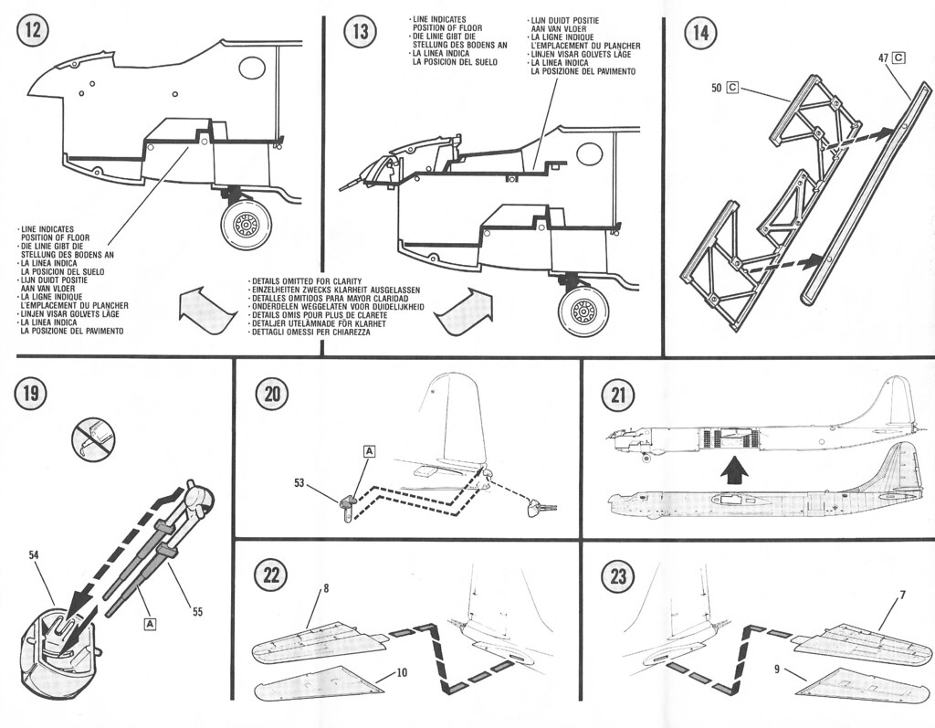 Monogram B 36 Peacemaker Model Instructions