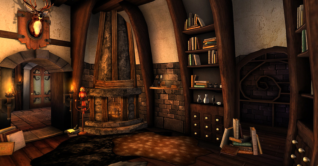 Cozy Scene Just A Cozy Little Scene In My Alchemy
