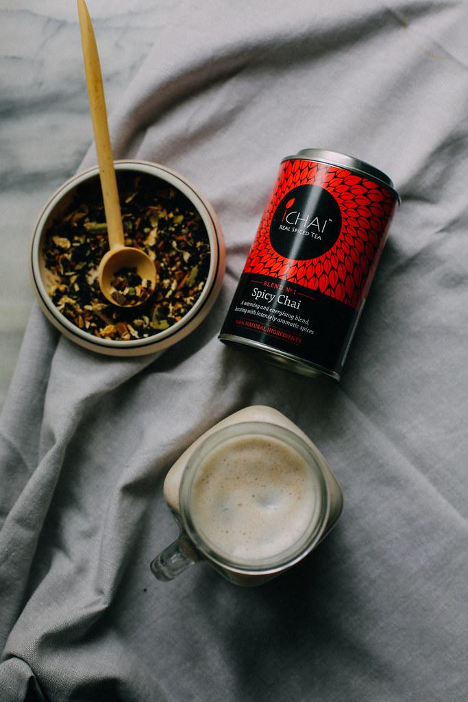 chai almond milk   ichai tea review