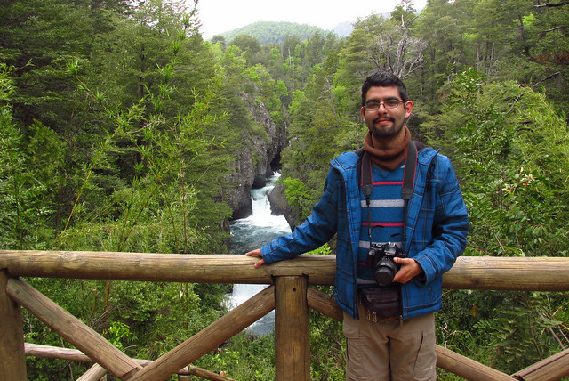 Ariel Cruz & Parque Nacional Radal Siete Tazas