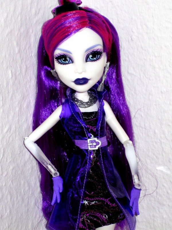 Monster High SPECTRA VONDERGEIST Ghouls Night Out GNO Doll ...