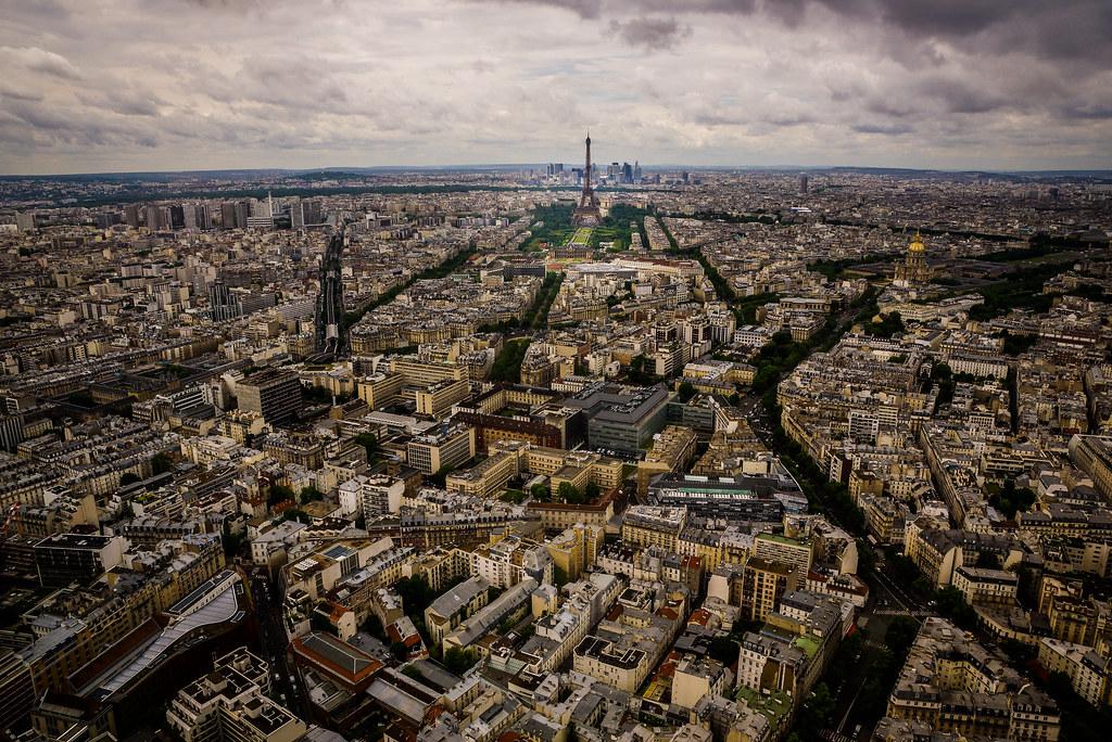 Plan Barón Haussmann, Paris