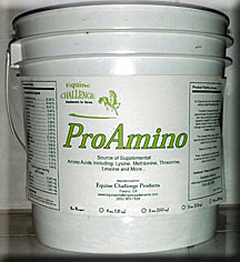 ProAmino, an Equine Challenge Supplement