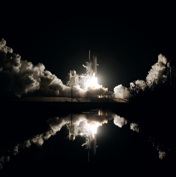 Jan 12 1986 Early Morning Space Shuttle Launch On Jan