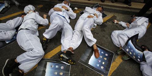 Trabajadores de Foxconn ¿Víctimas de explotación humana?