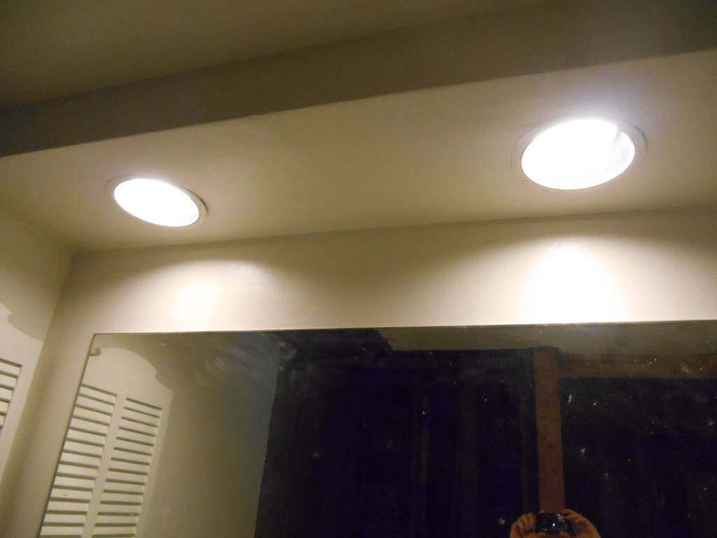 Recessed Lights In Master Bathroom Soffit They Are Not