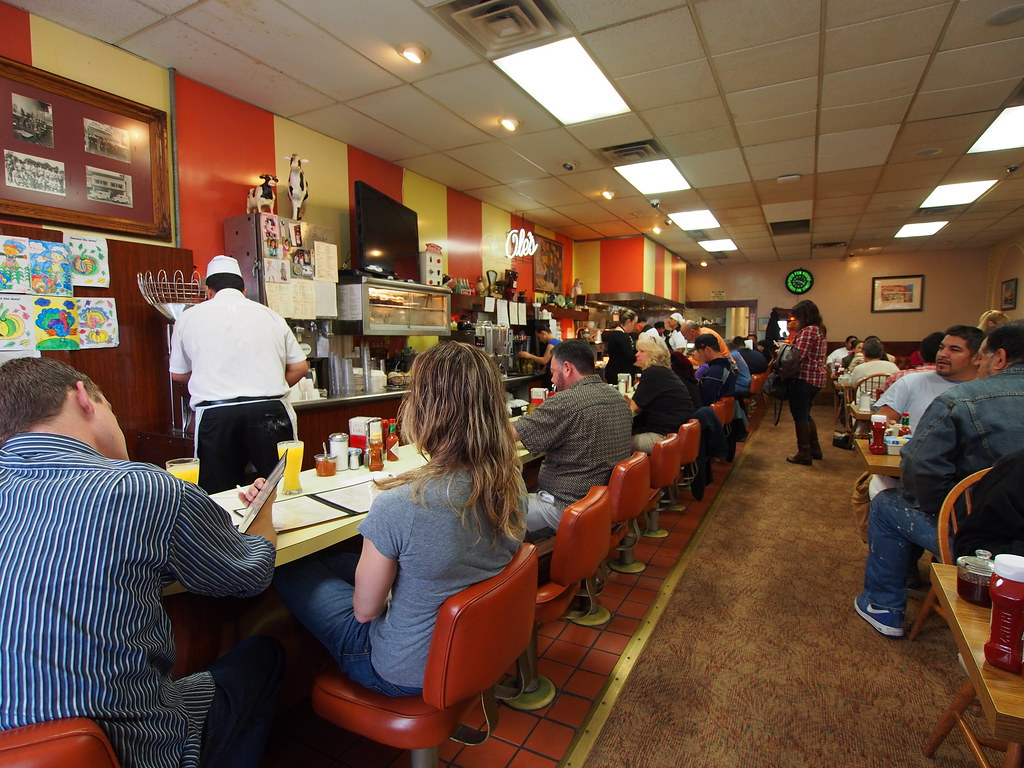 American Diner Restaurant This Is A Greasy Spoon