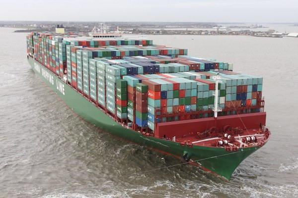CSCL Globe Worlds largest container ship. 'Published' | Flickr