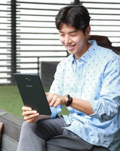 La Galaxy Tab 2 con conexión LTE, pensada para consumir multimedia.