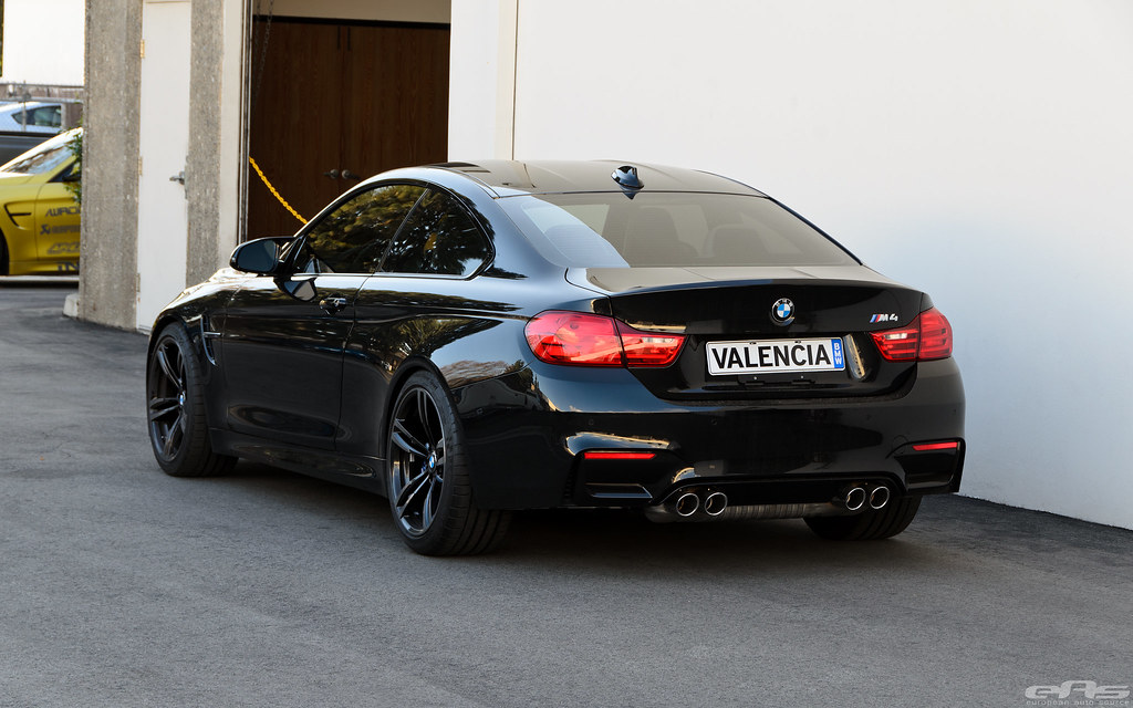 Black Sapphire BMW F82 M4 ESS Tune HampR Springs IND Ma