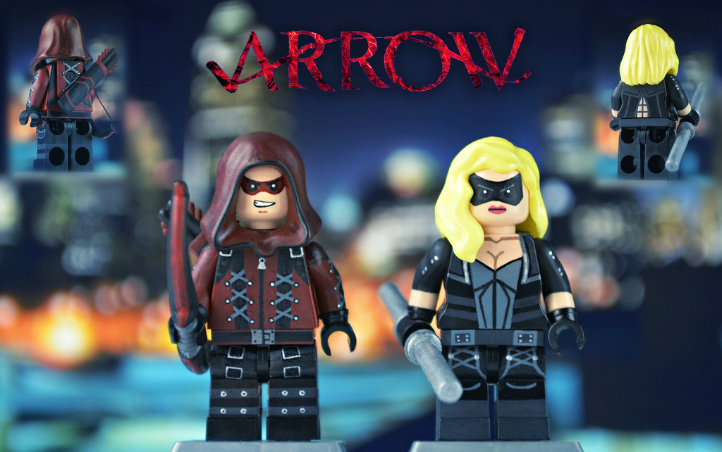 LEGO CW Arsenal And Black Canary Back When I Made The