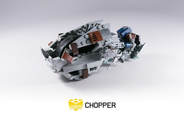 Lego Halo 3 Brute Chopper