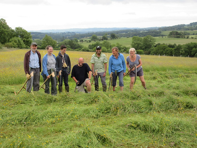 Northumberland scythe group