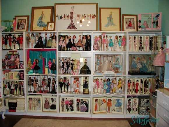 One wall within my Barbie room