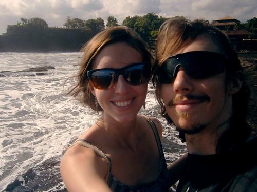 Us at Tanah Lot Bali