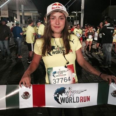 Larisa Morales - Wings for Life World Run Guadalajara 2016