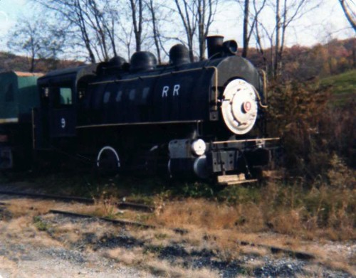 Porter #9 Engine at Burnesville