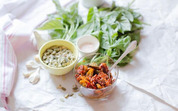 Slow Roasted Tomato and Pepita Pesto