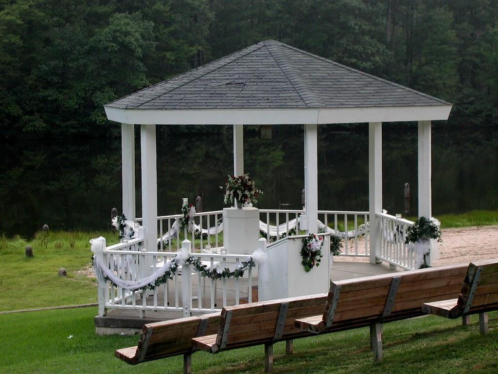 Wedding Gazebo At Twin Lakes State Park Its Perfect A