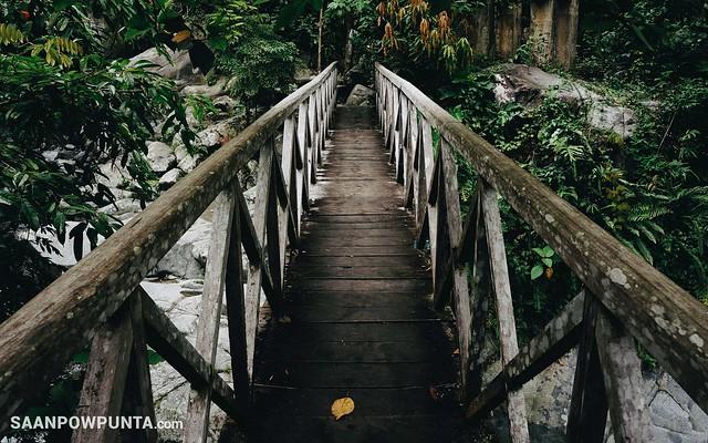 Bridge to Bulawan Falls