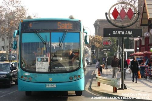 Transantiago - Metbus - Busscar Urbanuss Pluss / Mercedes Benz (BBSR23)