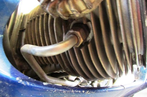 Air Intake Manifold Connection at Exhaust Manifold