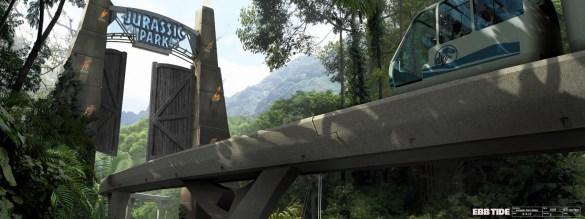 JurassicWorld_Gates por Seth Engstrom