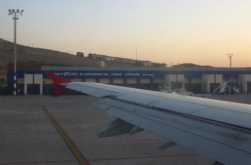Turquie - jour 22 - Dernier jour en Cappadoce - 098 - Nevşehir Kapadokya Havalimanı