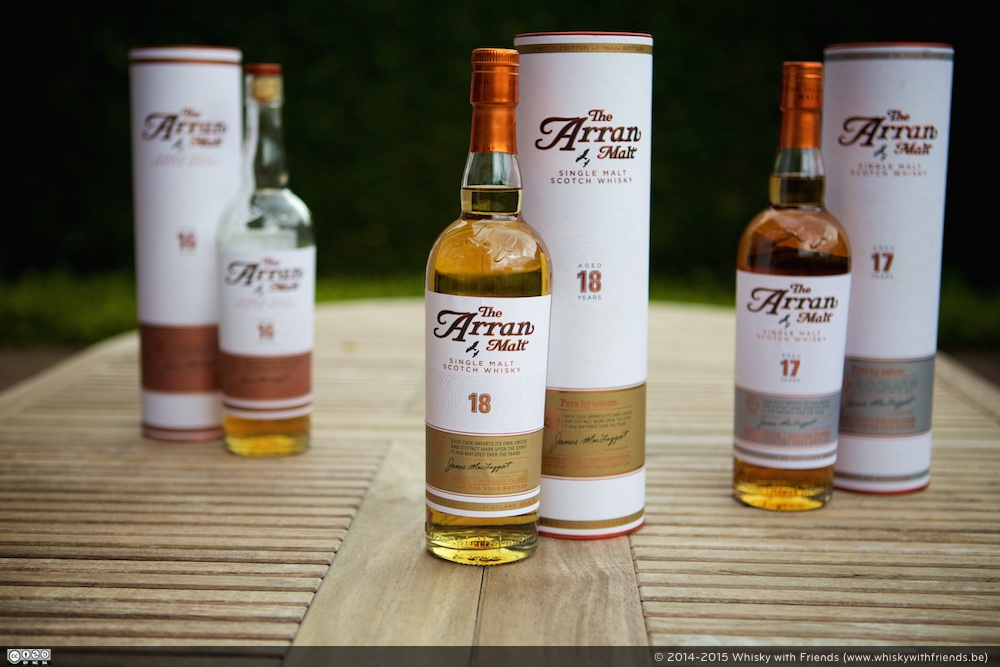 Arran 16 Years Old, 17 Years Old en 18 Years Old - The Road to 18 Trilogie.