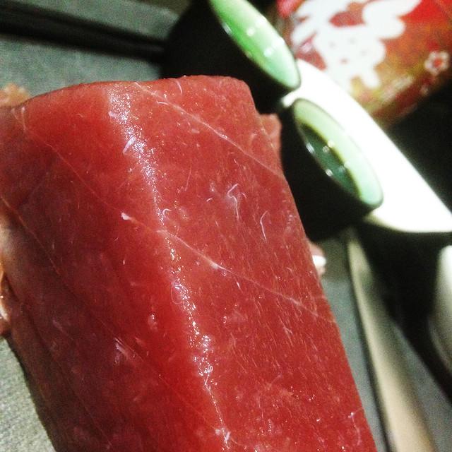 Tataki de atún.