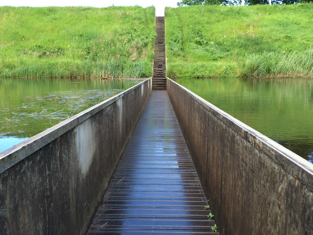 Moses Bridge | M. Appelman | Flickr -Most surreal places to visit- Part 3