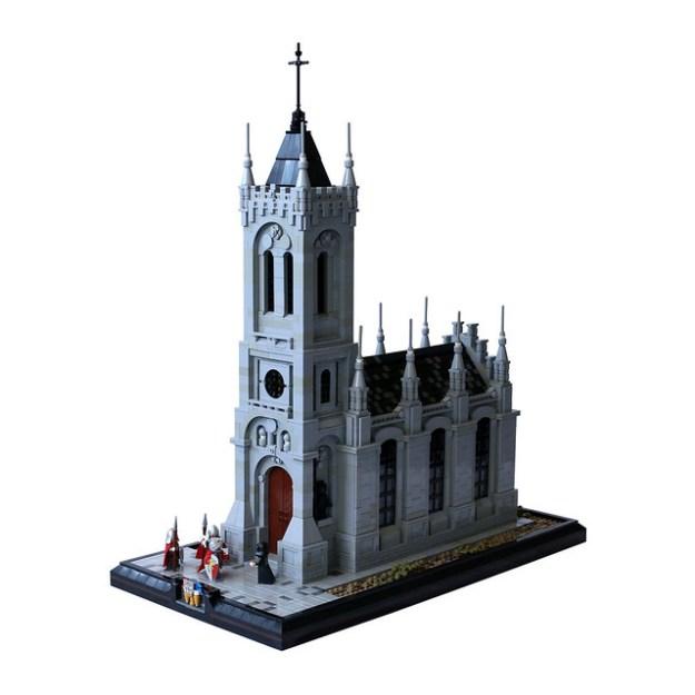 Lego Catholic Church The Brothers Brick The Brothers Brick