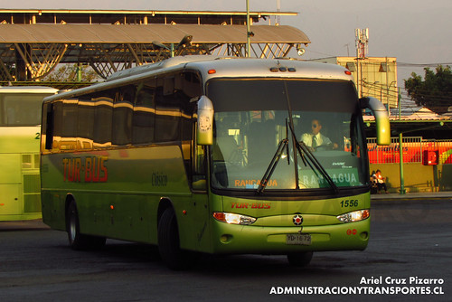 Tur Bus - Santiago - Marcopolo Andare Class / Mercedes Benz (YD1672)