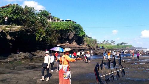 Beach at Tanah Lot Bali
