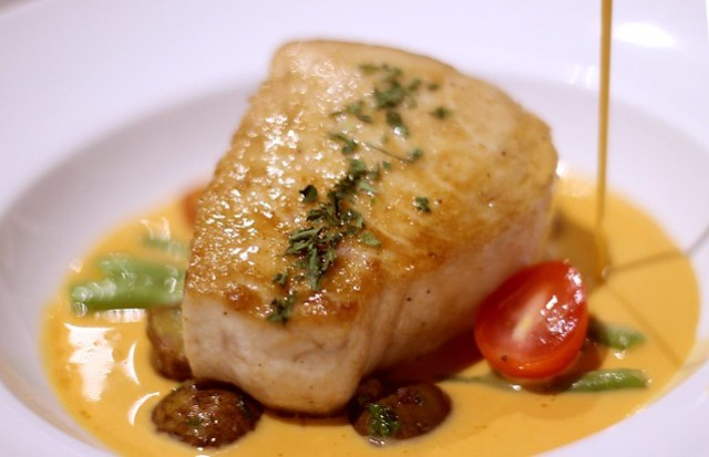 Pan-Roasted White Marlin