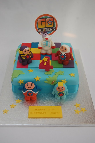 Go Jetters Cake Beautiful Birthday Cakes