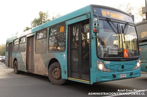 Transantiago - Metbus - Caio Mondego H / Mercedes Benz (BJFY61)