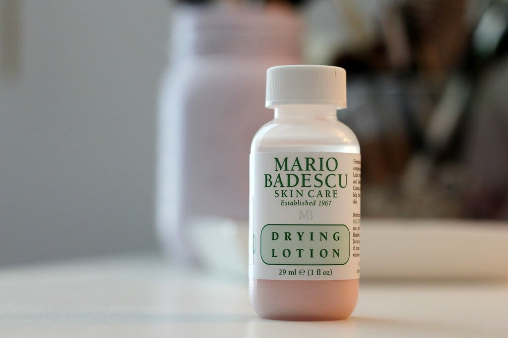 Mario Badescu Drying Lotion review blog with pictures