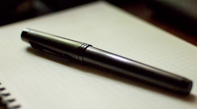 Parker Premier Monochrome Black