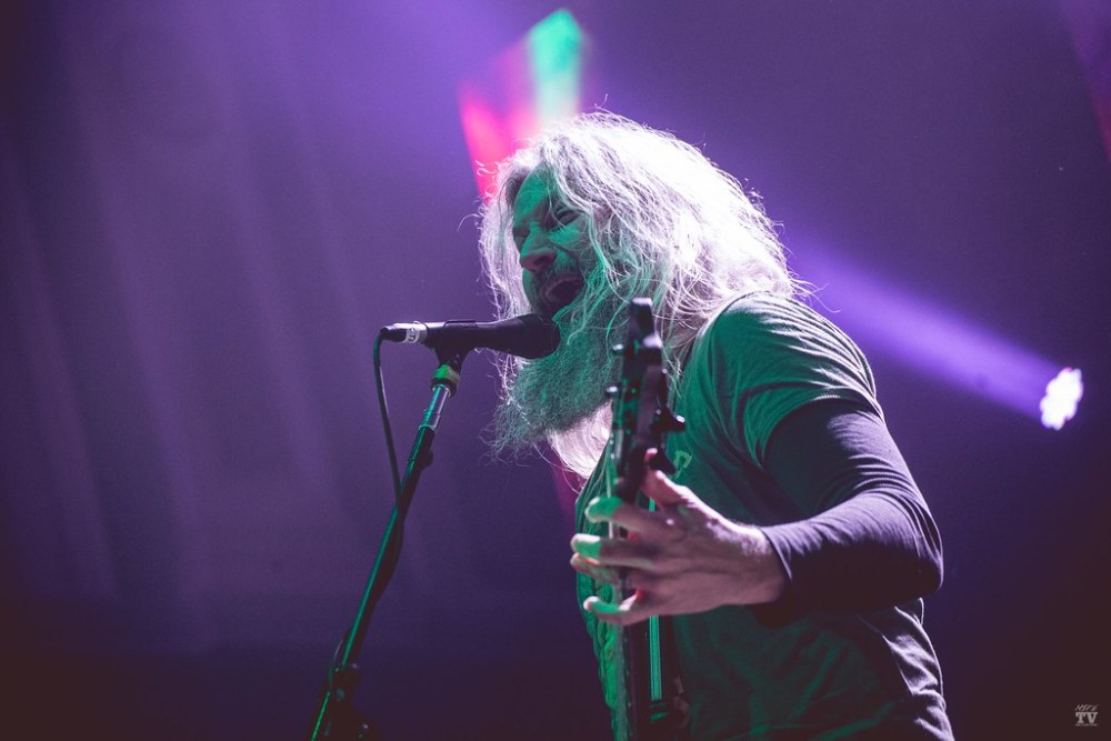 metal band Mastodon performing at Ulster Hall, Belfast in Ireland on January 14th 2019