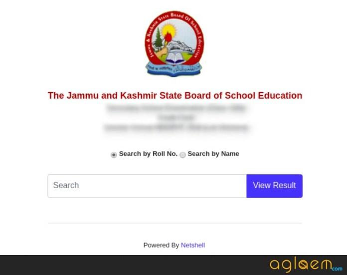 JKBOSE 10th Result 2019 Jammu Summer Zone