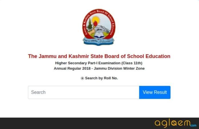 JKBOSE 11th Annual Result 2018 Jammu Division Winter Zone