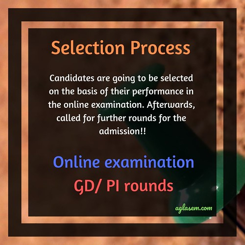 Symbiosis Indore MBA Admission 2019 Selection Process