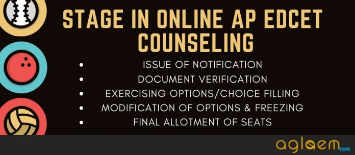 ap edcet 2019 counseling stages