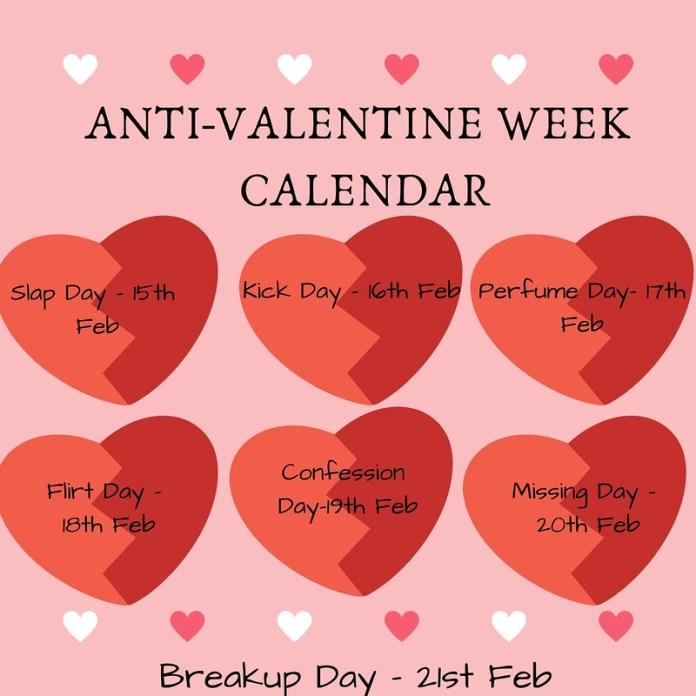 Anti Valentine Week 2019