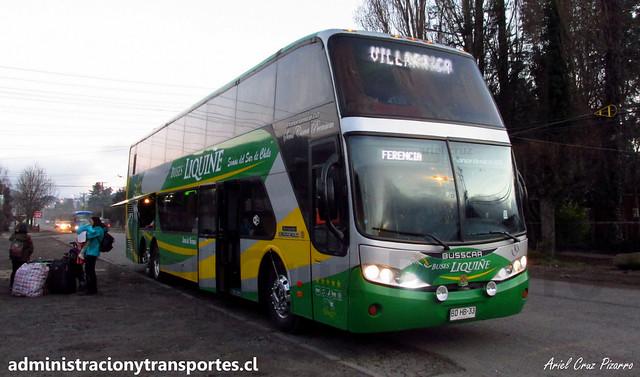 Buses Liquiñe | Lican Ray | Busscar Panorâmico DD - Mercedes Benz / BDHB33 (Semi Cama)
