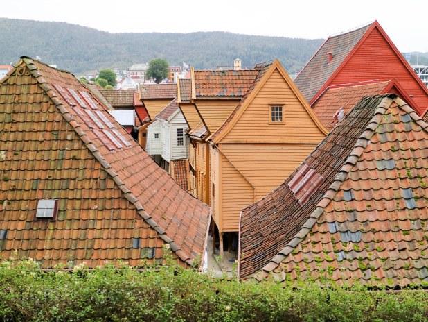Tejados del Bryggen