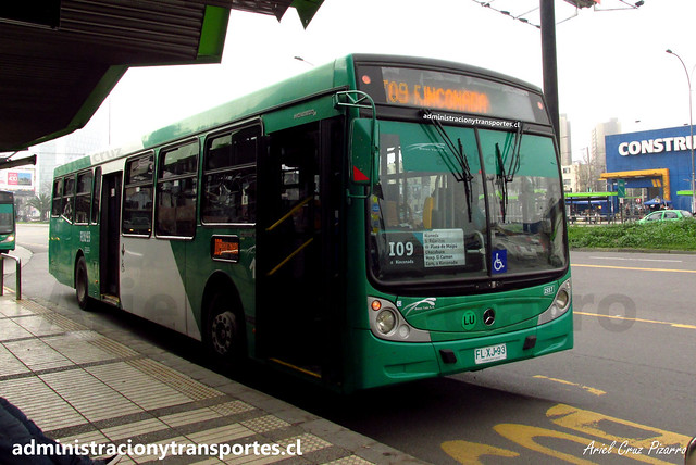Transantiago | Buses Vule - I09 | Caio Mondego H Biportal - Mercedes Benz / FLXJ93 - 1557