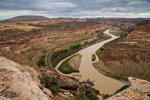 Ruby Canyon Overlook