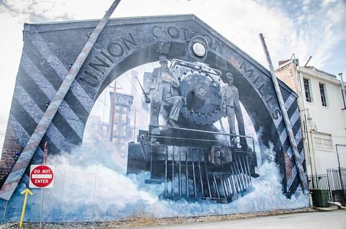 Union Railroad Mural
